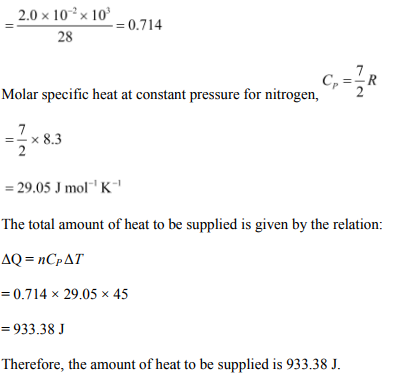 Physics Numericals Class 11 Chapter 12 6