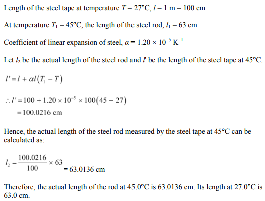 Physics Numericals Class 11 Chapter 11 17