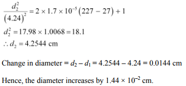Physics Numericals Class 11 Chapter 11 23