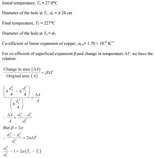 Physics Numericals Class 11 Chapter 11 22