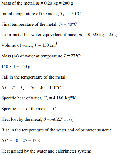 Physics Numericals Class 11 Chapter 11 43