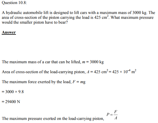 Physics Numericals Class 11 Chapter 10 19