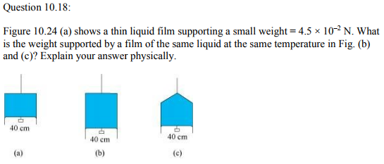 Physics Numericals Class 11 Chapter 10 45
