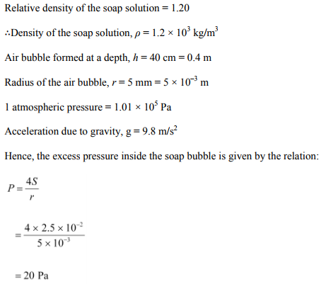 Physics Numericals Class 11 Chapter 10 51