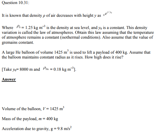 Physics Numericals Class 11 Chapter 10 89