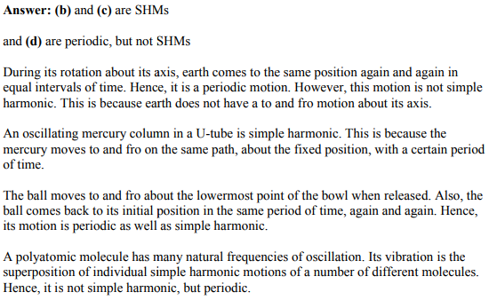 Physics Numericals Class 11 Chapter 14 5