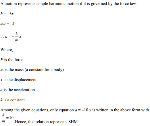 Physics Numericals Class 11 Chapter 14 19