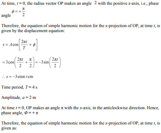 Physics Numericals Class 11 Chapter 14 38