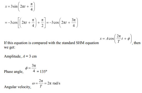 Physics Numericals Class 11 Chapter 14 45