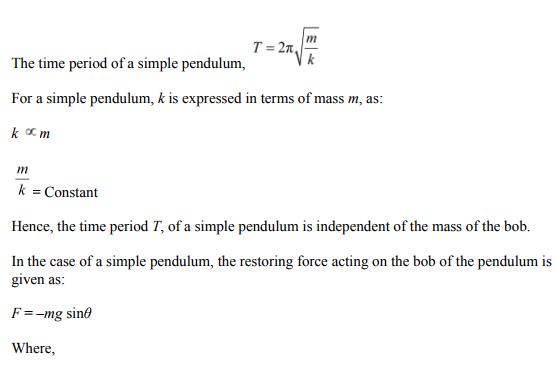 Physics Numericals Class 11 Chapter 14 62