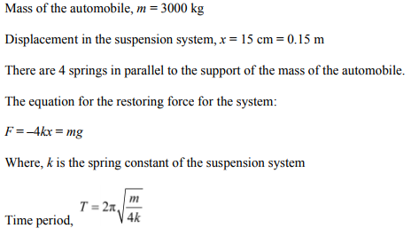 Physics Numericals Class 11 Chapter 14 80