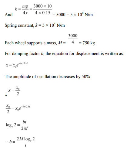 Physics Numericals Class 11 Chapter 14 81