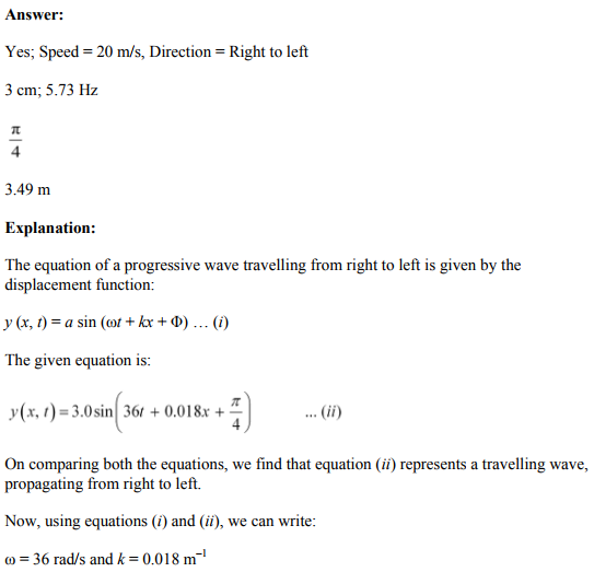 Physics Numericals Class 11 Chapter 15 24