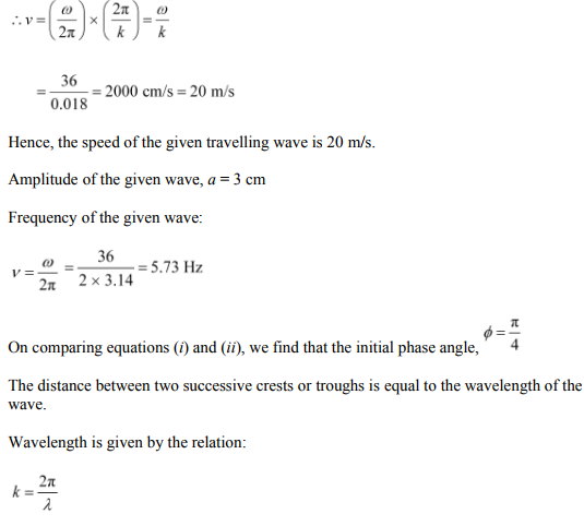 Physics Numericals Class 11 Chapter 15 26