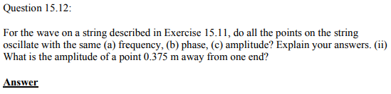 Physics Numericals Class 11 Chapter 15 40