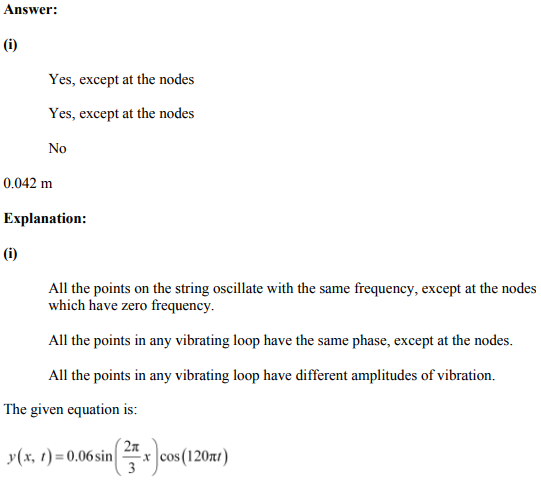 Physics Numericals Class 11 Chapter 15 41