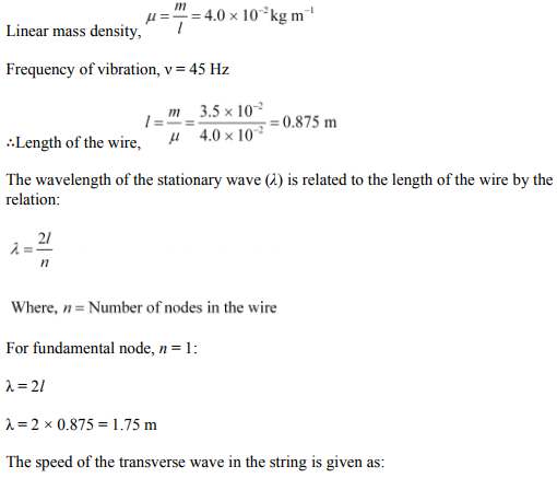 Physics Numericals Class 11 Chapter 15 48