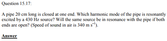 Physics Numericals Class 11 Chapter 15 57