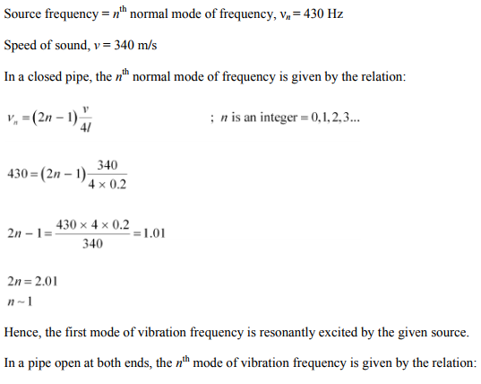 Physics Numericals Class 11 Chapter 15 59