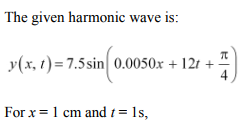 Physics Numericals Class 11 Chapter 15 75