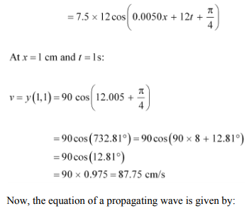 Physics Numericals Class 11 Chapter 15 77