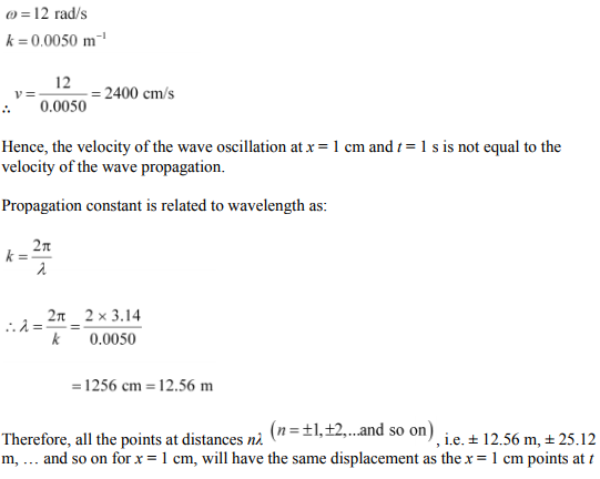 Physics Numericals Class 11 Chapter 15 79