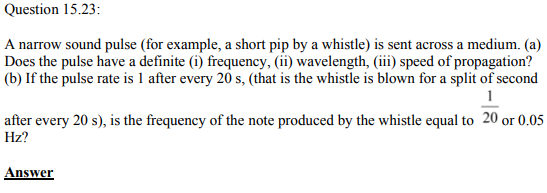 Physics Numericals Class 11 Chapter 15 81