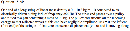 Physics Numericals Class 11 Chapter 15 83
