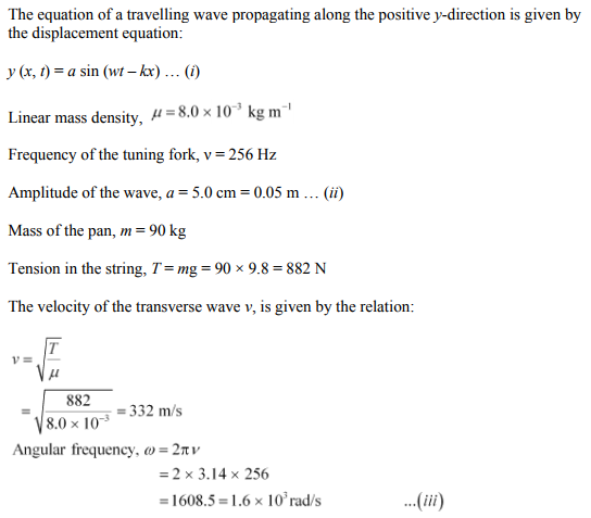 Physics Numericals Class 11 Chapter 15 85