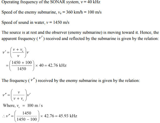 Physics Numericals Class 11 Chapter 15 89