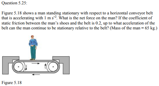 Physics Numericals Class 11 Chapter 5 77
