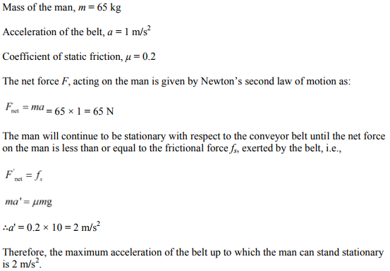 Physics Numericals Class 11 Chapter 5 79