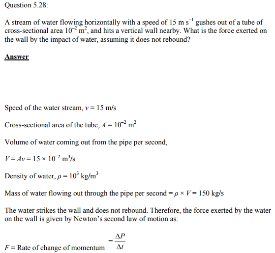 Physics Numericals Class 11 Chapter 5 86