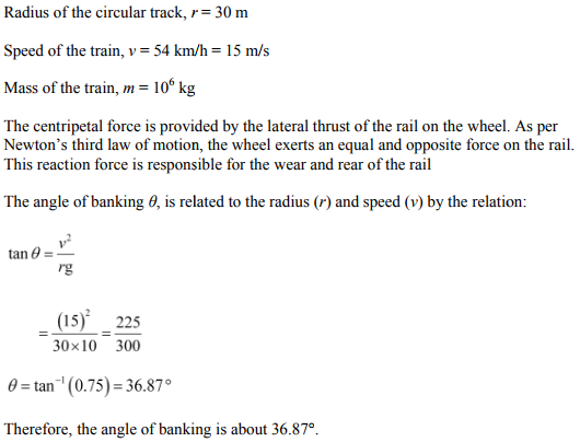 Physics Numericals Class 11 Chapter 5 96
