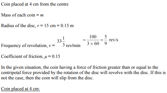 Physics Numericals Class 11 Chapter 5 117
