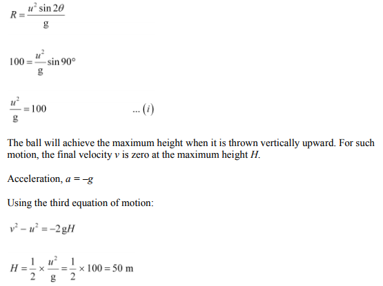 Physics Numericals Class 11 Chapter 4 41