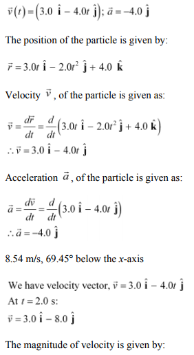 Physics Numericals Class 11 Chapter 4 50