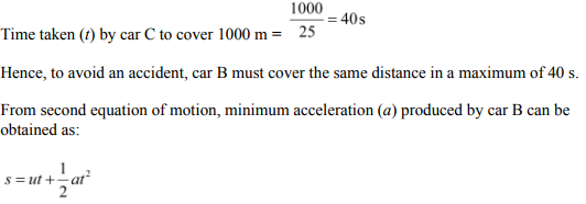 Physics Numericals Class 11 Chapter 3 17