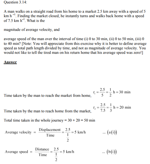 Physics Numericals Class 11 Chapter 3 36