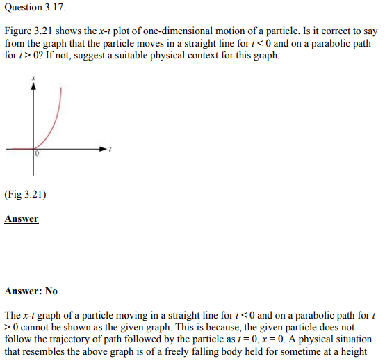 Physics Numericals Class 11 Chapter 3 45