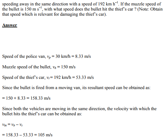 Physics Numericals Class 11 Chapter 3 47
