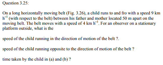 Physics Numericals Class 11 Chapter 3 63