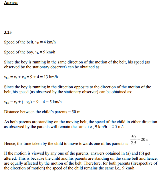 Physics Numericals Class 11 Chapter 3 65