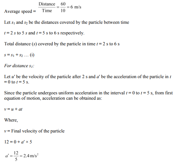 Physics Numericals Class 11 Chapter 3 73