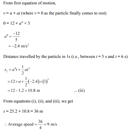 Physics Numericals Class 11 Chapter 3 75