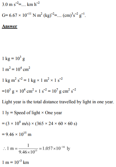 Physics Numericals Class 11  Chapter 2 5