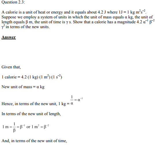 Physics Numericals Class 11  Chapter 2 8