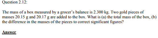 Physics Numericals Class 11  Chapter 2 27