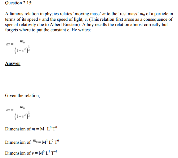 Physics Numericals Class 11  Chapter 2 35