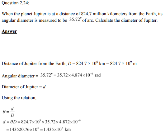 Physics Numericals Class 11  Chapter 2 53